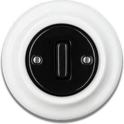 Porcelain switches - 1 gang - SLIM ()  - ROBUS | Katy Paty