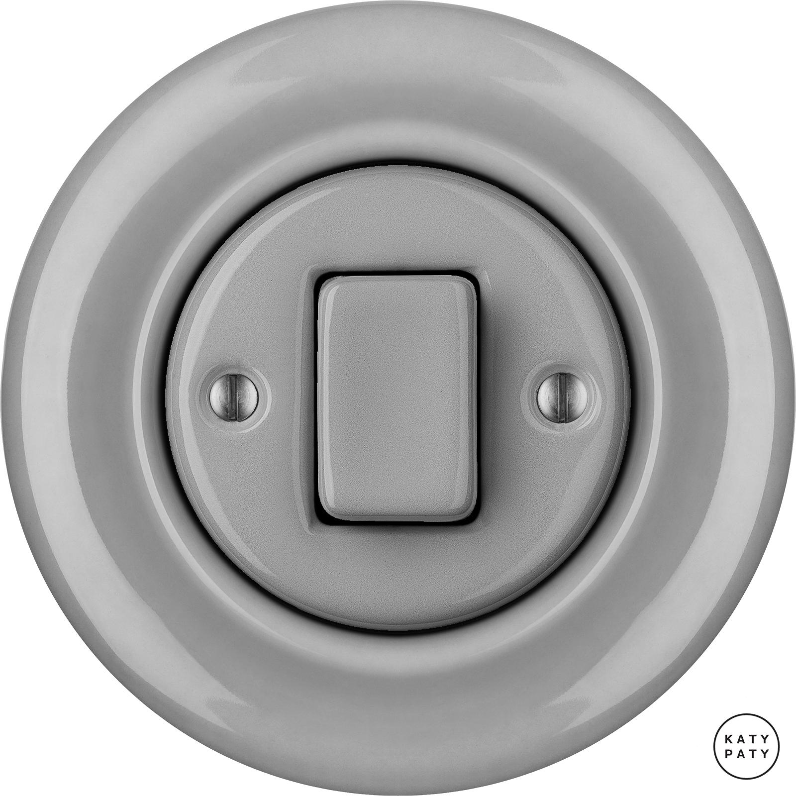 Porcelain switches - 1 gang - FAT ()  - CANA | Katy Paty