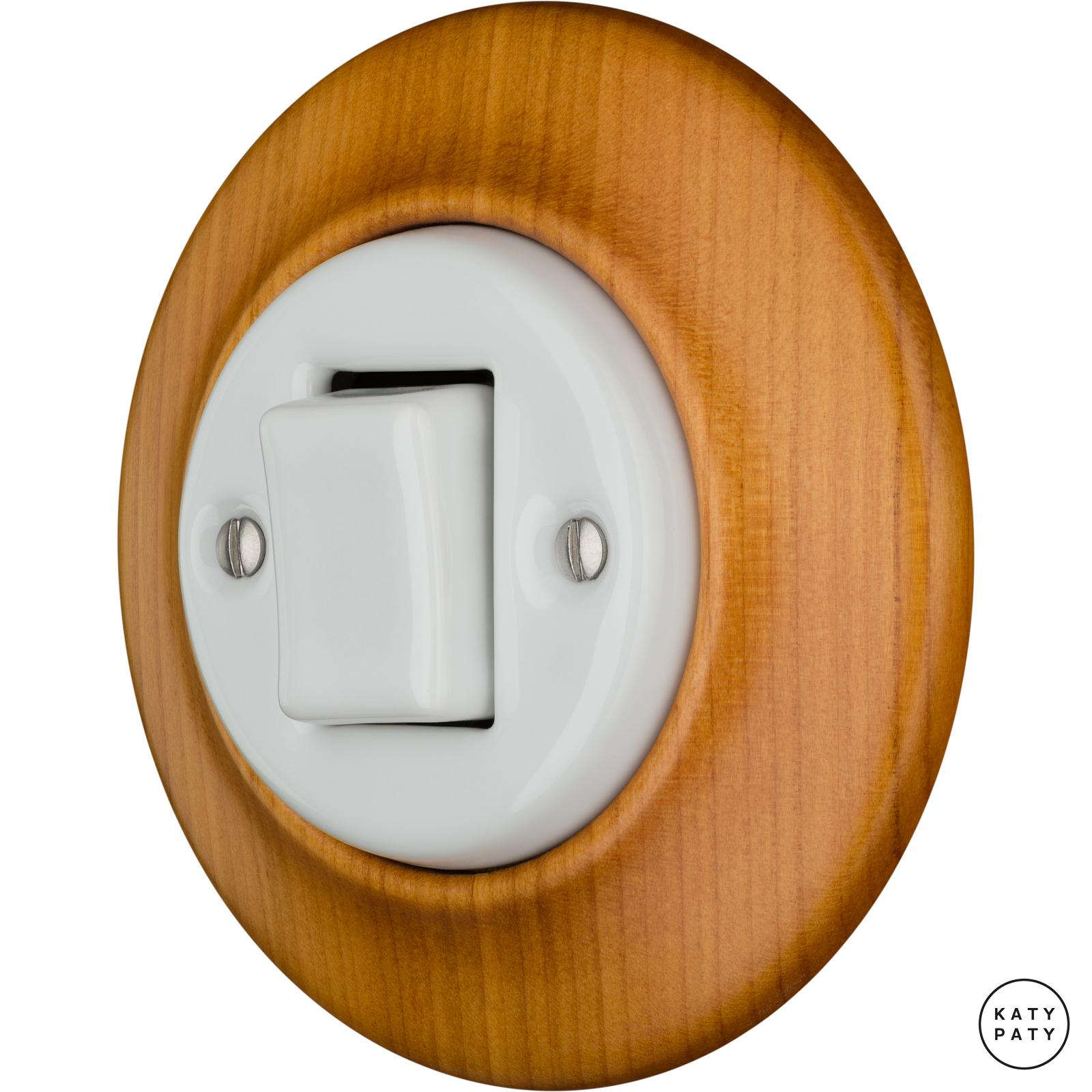 Porcelain switches - 1 gang - FAT ()  - PADELUS | Katy Paty