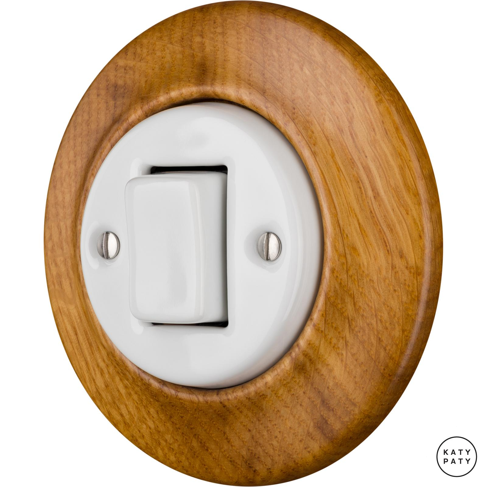 Porcelain switches - 1 gang - FAT ()  - ROBUS | Katy Paty