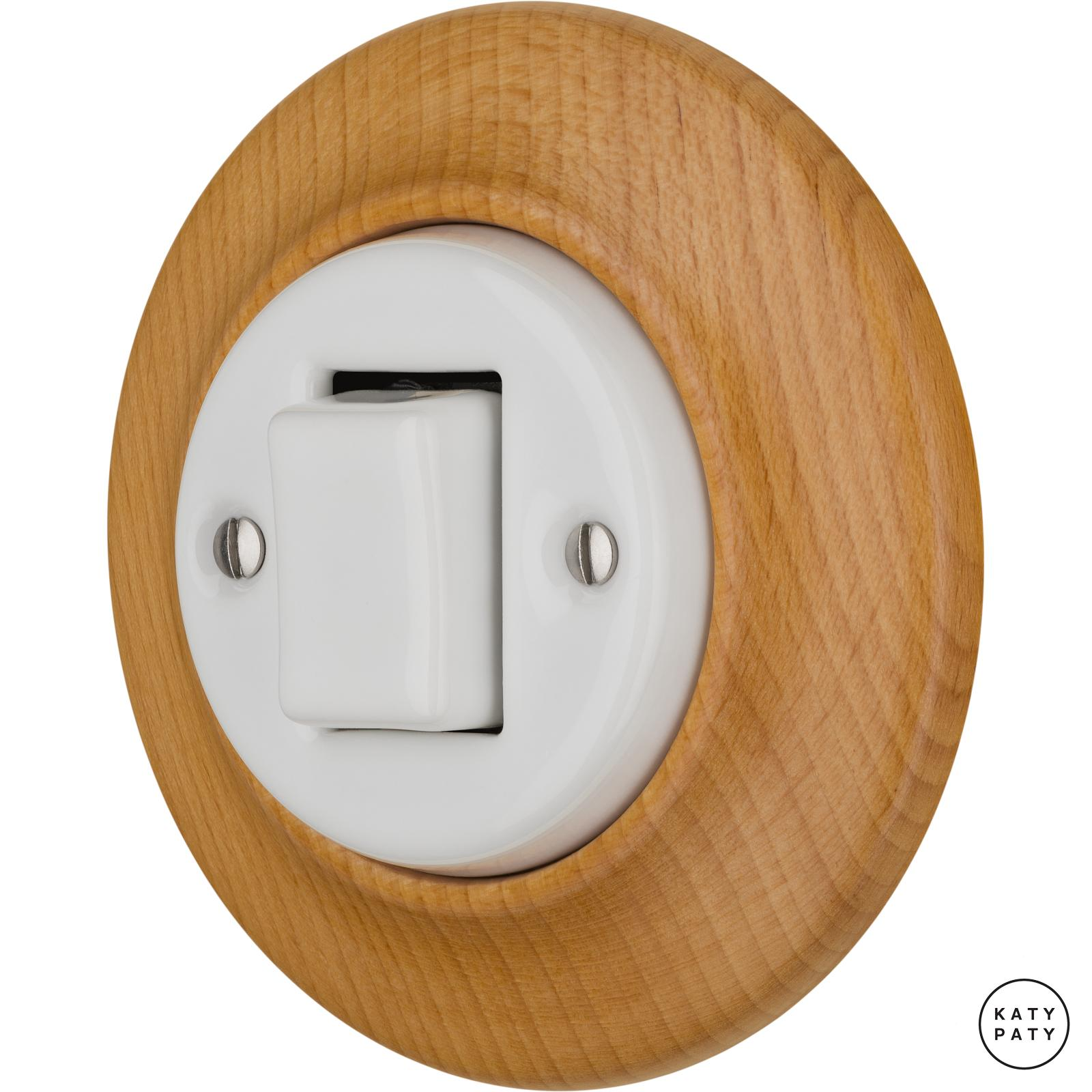Porcelain switches - 1 gang - FAT ()  - FAGUS | Katy Paty