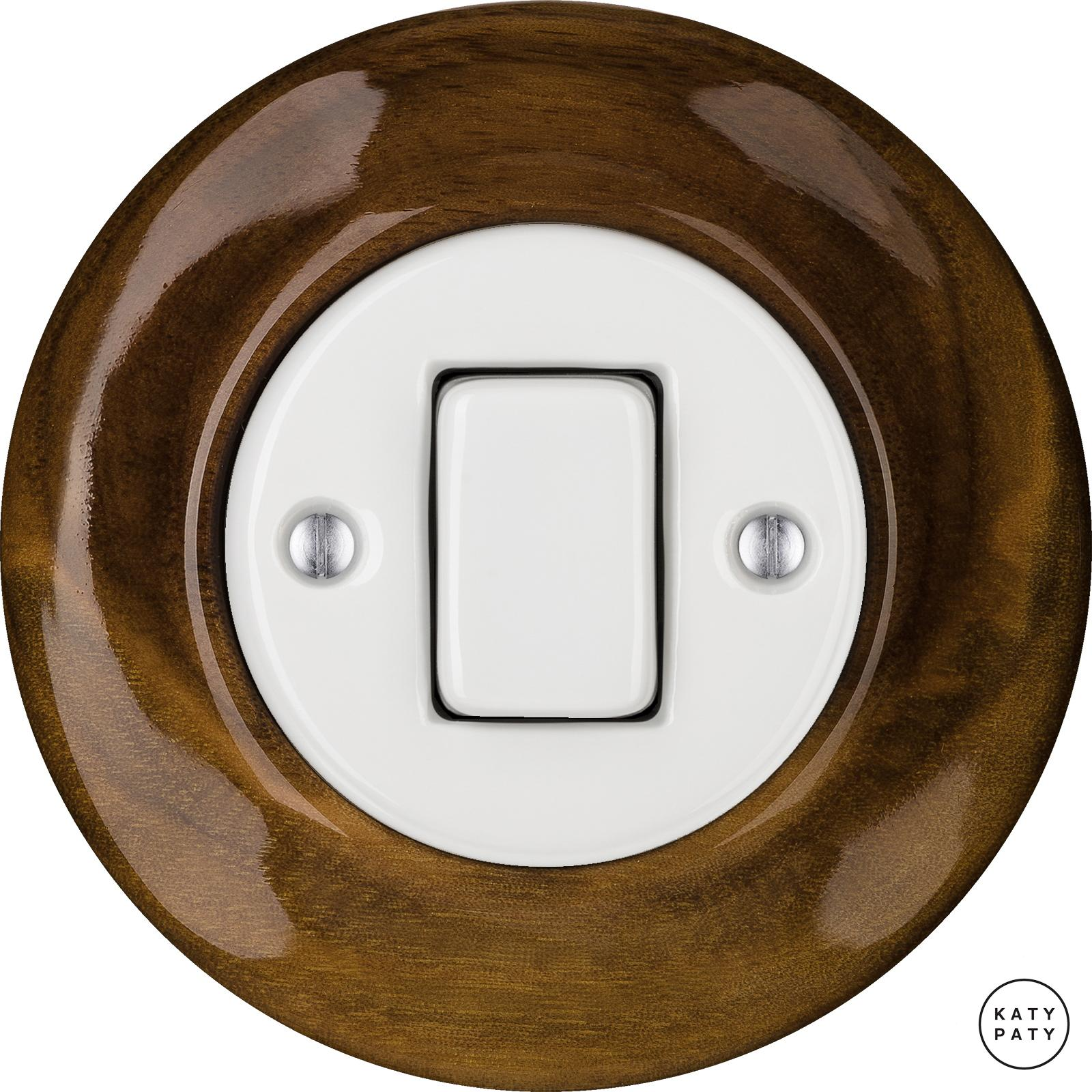 Porcelain switches - 1 gang - FAT ()  - NUC MAG | Katy Paty