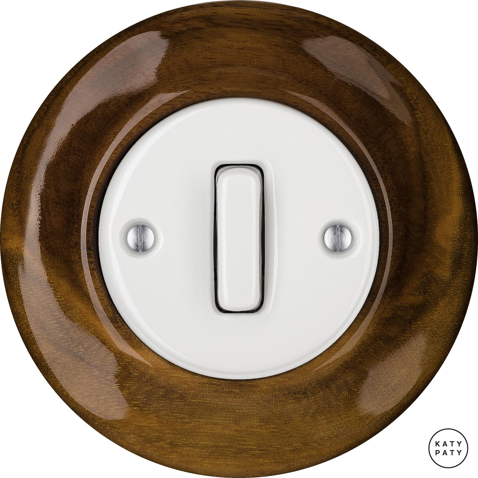 Porcelain switches - 1 gang - SLIM ()  - NUC MAG | Katy Paty