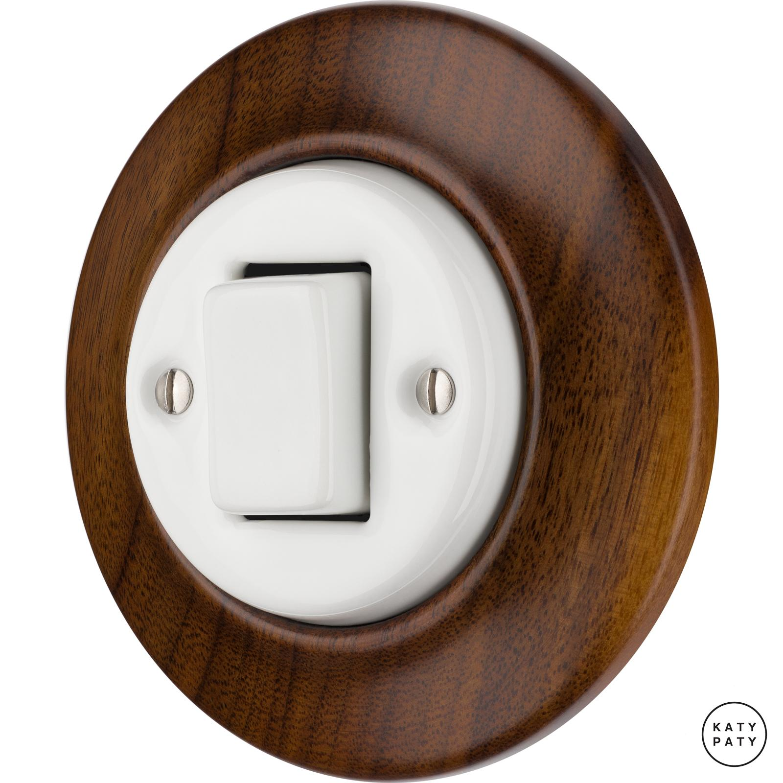 Porcelain switches - 1 gang - FAT ()  - NUCLEUS | Katy Paty