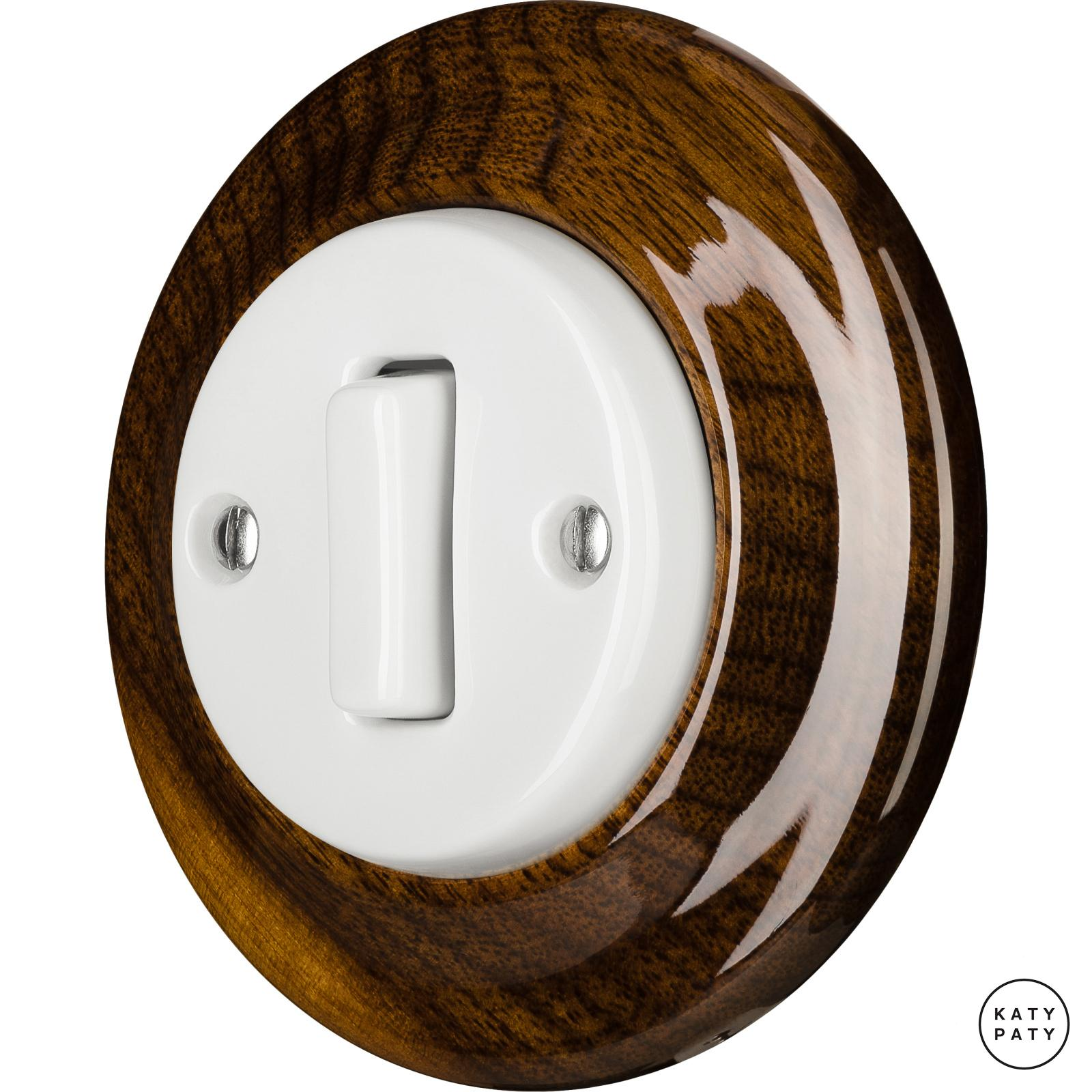 Porcelain switches - 1 gang - SLIM ()  - NUCLEUS | Katy Paty