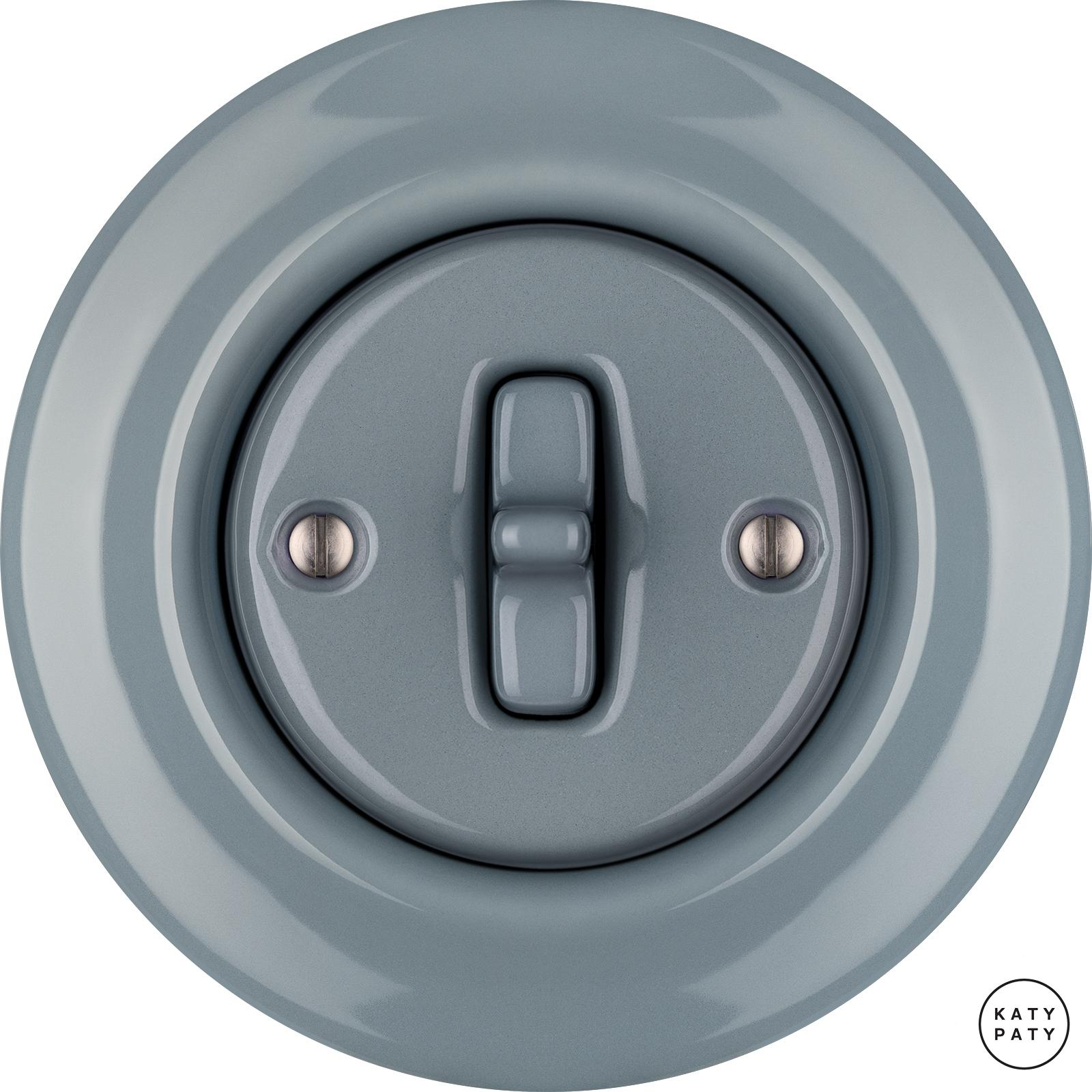 Porcelain toggle switches - 1 gang ()  - LIVOR | Katy Paty