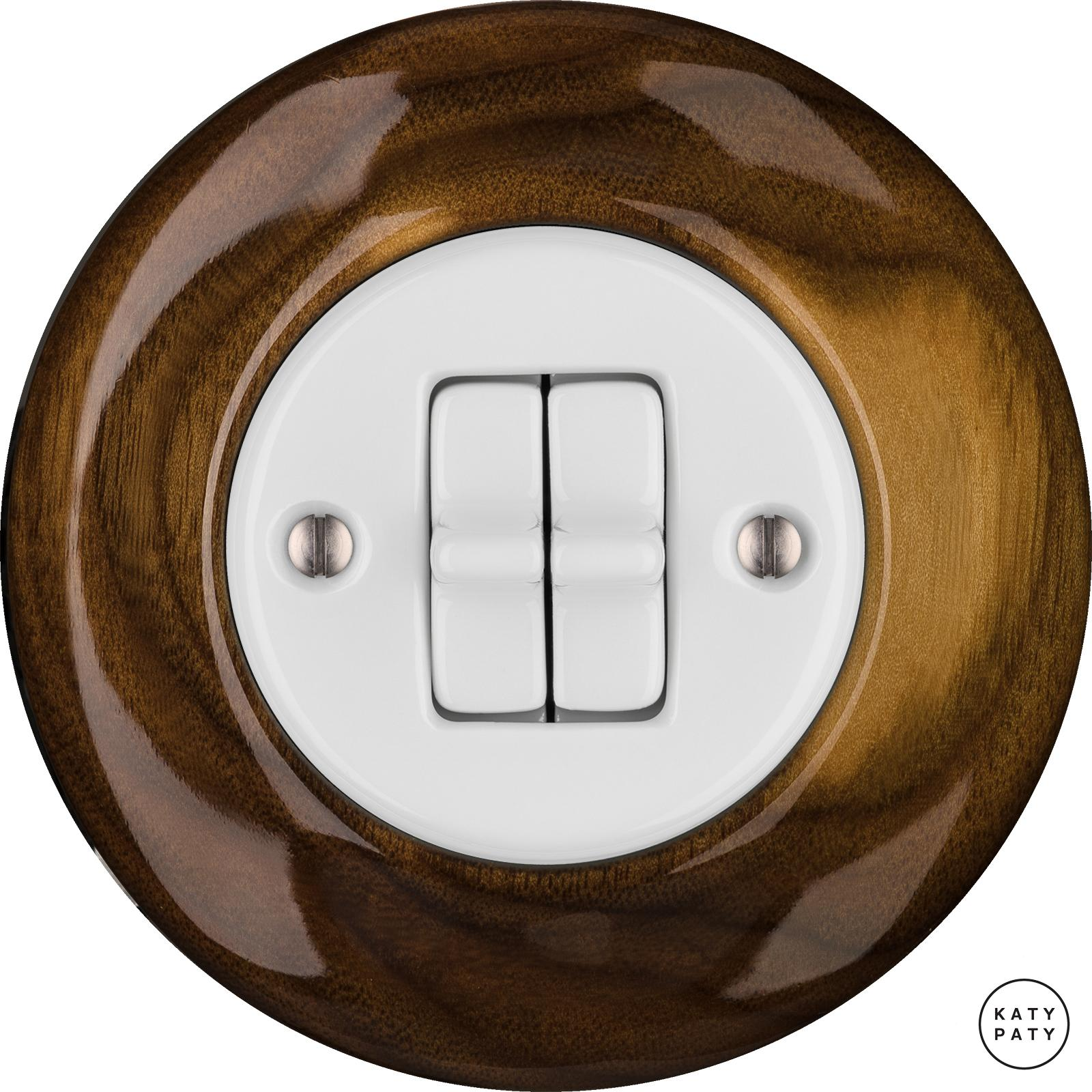 Porcelain toggle switches - a 2 gang ()  - NUC MAG | Katy Paty