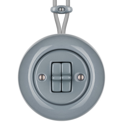 Porcelain toggle switches - a 2 gang ()  - LIVOR | Katy Paty