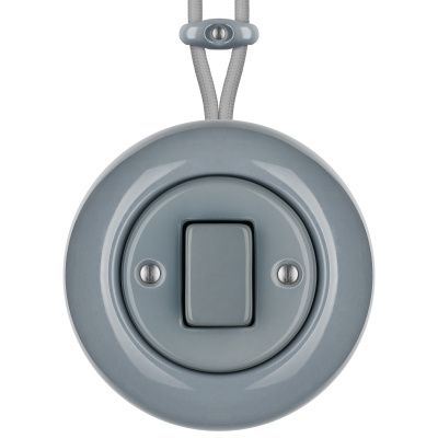 Porcelain switches - 1 gang - FAT ()  - LIVOR | Katy Paty
