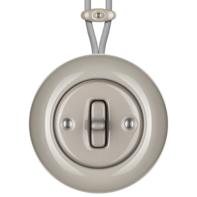Porcelain toggle switches - 1 gang ()  - LUCIDUM | Katy Paty