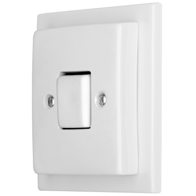 Porcelain switches - a 1 key - FAT ()  - ALBA | Katy Paty