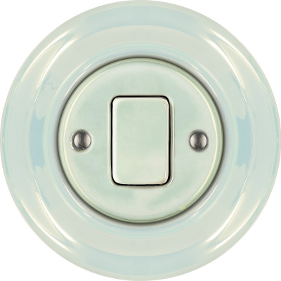 Porcelain switches - 1 gang - FAT ()  - CONCHA | Katy Paty