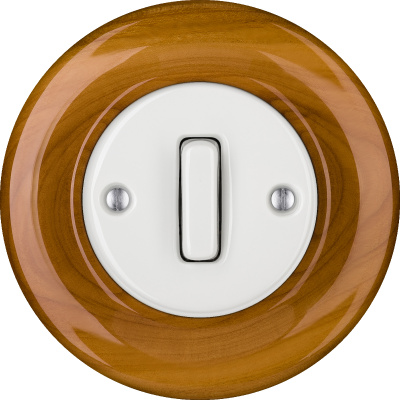 Porcelain switches - 1 gang - SLIM ()  - PADELUS | Katy Paty