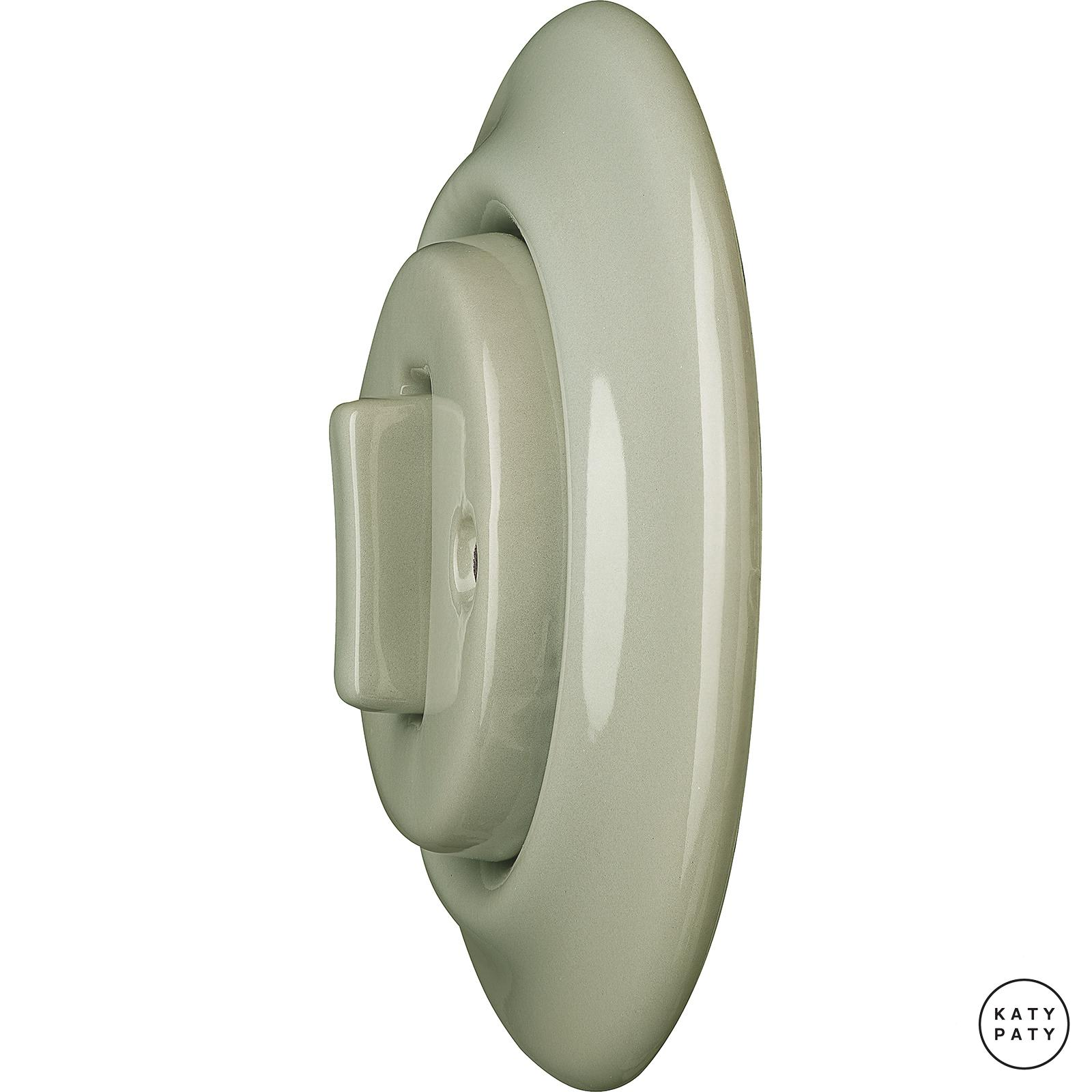 Porcelain switches - 1 gang - SLIM ()  - CHLORA | Katy Paty