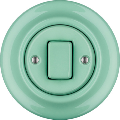 Porcelain switches - 1 gang - FAT ()  - PNOE MENTOL | Katy Paty