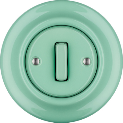 Porcelain switches - 1 gang - SLIM ()  - PNOE MENTOL | Katy Paty